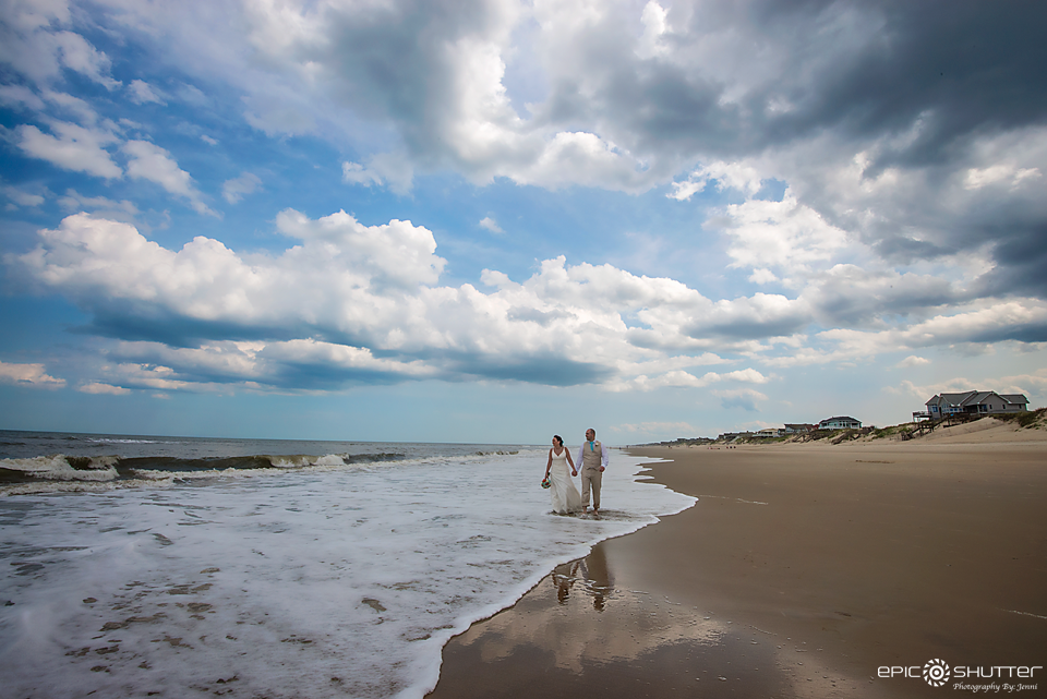Corolla, OBX, North Carolina, Beach Wedding, Wedding Photography, Epic Shutter Photography, OBX Wedding Photography